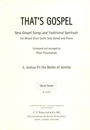 Joshua fit Battle of Jericho - Partition - laflutedepan.com