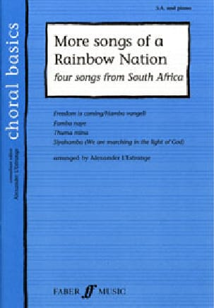 - More songs of Rainbow Nation - Partition - di-arezzo.fr