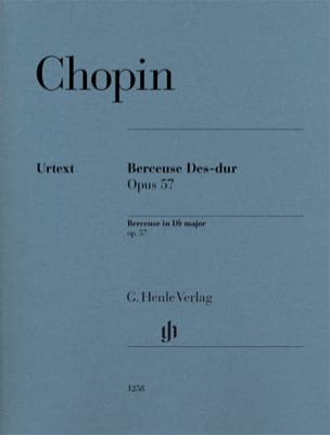 CHOPIN - Lullaby in D flat major op. 57 - Sheet Music - di-arezzo.co.uk