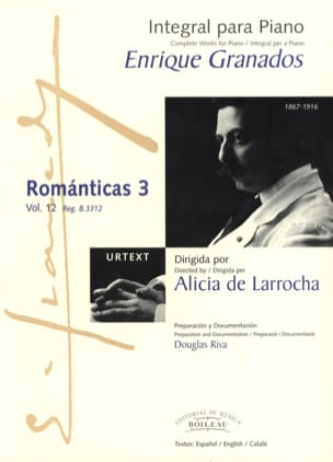Enrique Granados - Romanticas Volume 3 - Partitura - di-arezzo.it