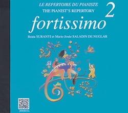 Quoniam Béatrice / Suranyi Beata / Saladin de Nuglar Marie-Josée - Fortissimo 2. CD - Partition - di-arezzo.fr