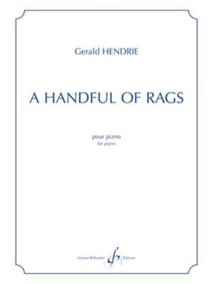 Gerald Hendrie - A handful of rags - Partition - di-arezzo.fr