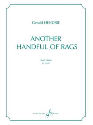 Gerald Hendrie - Another handful of rags - Partition - di-arezzo.fr