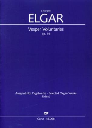 Vesper Voluntaries op. 14 - ELGAR - Partition - laflutedepan.com