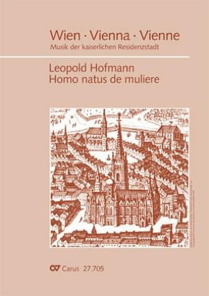 Leopold Hofmann - Homo natus de muliere - Partition - di-arezzo.fr