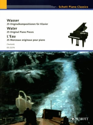 L'eau Partition Piano - laflutedepan