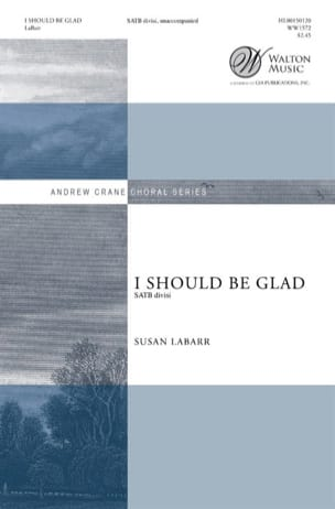 Susan Labarr - I should be glad - Partition - di-arezzo.fr