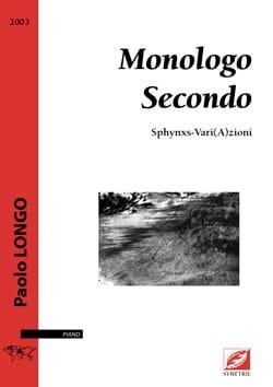 Paolo Longo - Monologo secondo - Sheet Music - di-arezzo.com