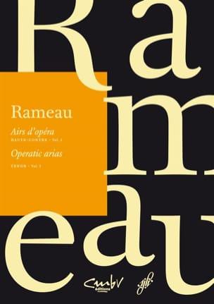Jean-Philippe Rameau - Airs d'opéra. Haute-contre. Volume 2 - Partition - di-arezzo.fr