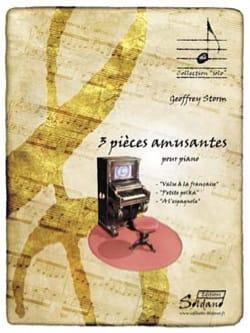 Geoffrey STORM - 3 pièces amusantes - Partition - di-arezzo.fr