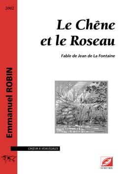 Le Chêne et le Roseau - Emmanuel Robin - Partition - laflutedepan.com
