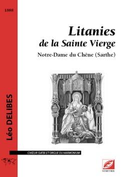 Litanies de la Sainte Vierge DELIBES Partition Chœur - laflutedepan
