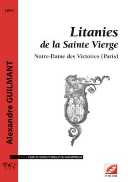 Litanies de la Sainte Vierge - Alexandre Guilmant - laflutedepan.com