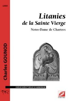 Litanies de la Sainte Vierge GOUNOD Partition Chœur - laflutedepan