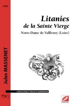 Litanies de la Sainte Vierge Jules Massenet Partition laflutedepan