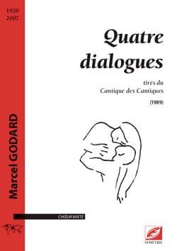 Quatre Dialogues - Marcel Godard - Partition - laflutedepan.com