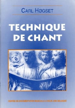Technique de chant Carl Hogset Livre laflutedepan