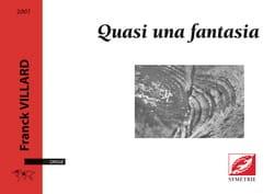 Franck Villard - Quasi una fantasia - Partition - di-arezzo.fr