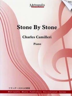 Stone by Stone Charles Camilleri Partition Piano - laflutedepan