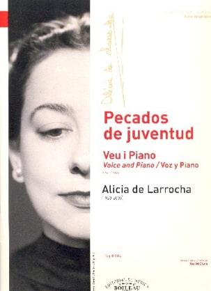 Alicia de Larrocha - Voix et piano - Partition - di-arezzo.fr