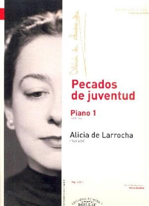 Piano Volume 1 Alicia de Larrocha Partition Piano - laflutedepan