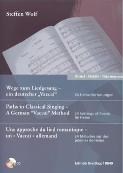 Steffen Wolf - 24 melodies. Average voice - Sheet Music - di-arezzo.com