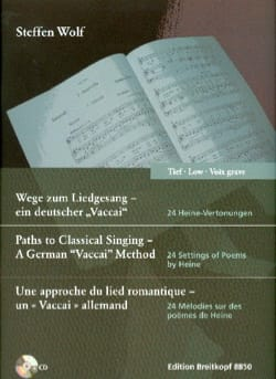 Steffen Wolf - 24 melodies. Deep voice - Sheet Music - di-arezzo.com
