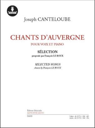 Chants d'Auvergne - Sélection - laflutedepan.com