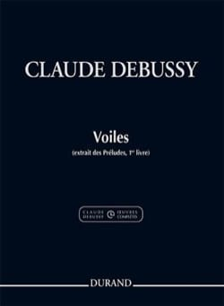 Voiles DEBUSSY Partition Piano - laflutedepan