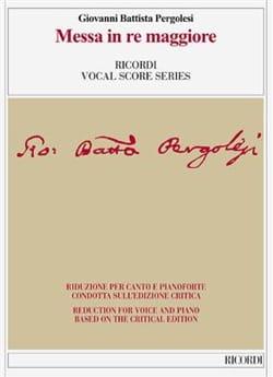 Messe en ré majeur. Edition Critique - laflutedepan.com