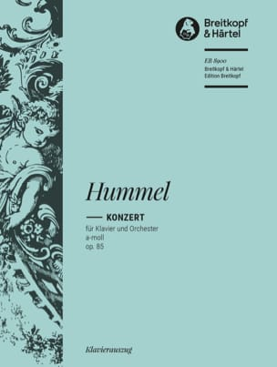 HUMMEL - Piano Concerto in A minor op. 85 - Sheet Music - di-arezzo.co.uk