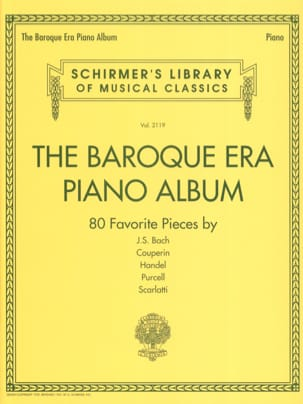 The Baroque Era piano album - Partition - Piano - laflutedepan.com