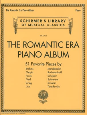 - The romantic era piano album - Partition - di-arezzo.fr