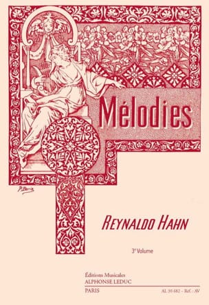 Reynaldo Hahn - Mélodies Volume 3 - Partition - di-arezzo.fr
