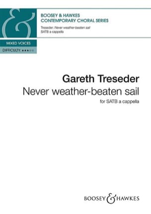Never weather-beaten sail Gareth Treseder Partition laflutedepan