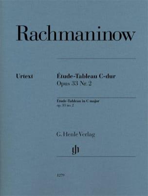 Etude-tableau en do majeur op. 33-2 - RACHMANINOV - laflutedepan.com