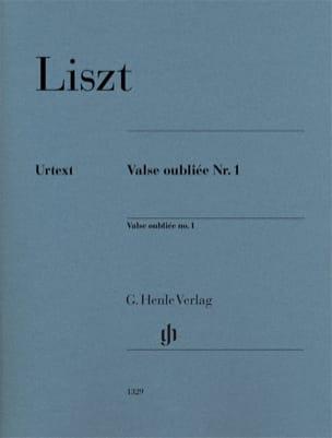 Franz Liszt - Forgotten Waltz # 1 - Sheet Music - di-arezzo.co.uk