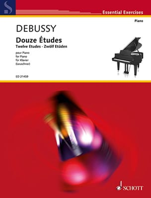 DEBUSSY - 12 Studies - Sheet Music - di-arezzo.com