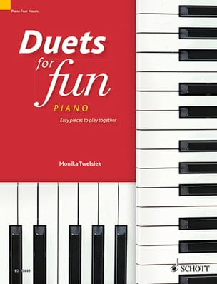 - Duets for fun pour Piano 4 mains - Partition - di-arezzo.fr