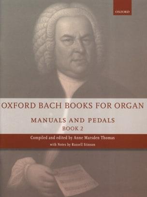 BACH - Oxford Bach Books for organ - Volume 2 - Partition - di-arezzo.fr