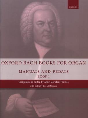 BACH - Oxford Bach Books for organ - Volume 1 - Partition - di-arezzo.fr