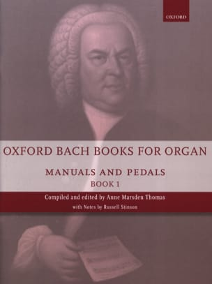 Oxford Bach Books for organ - Volume 1 BACH Partition laflutedepan