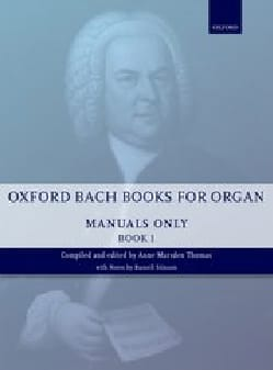 Oxford Bach Books for organ (manuals) Volume 1 - laflutedepan.com