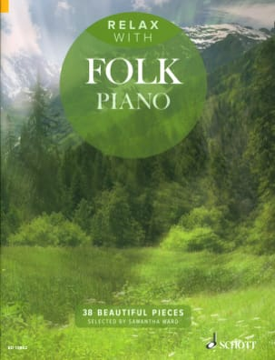 Relax with folk piano - Partition - Piano - laflutedepan.com