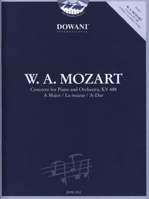 MOZART - Concierto para piano n.º 23 en Major KV 488 con 2 CD - Partitura - di-arezzo.es