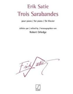 3 sarabandes - SATIE - Partition - Piano - laflutedepan.com