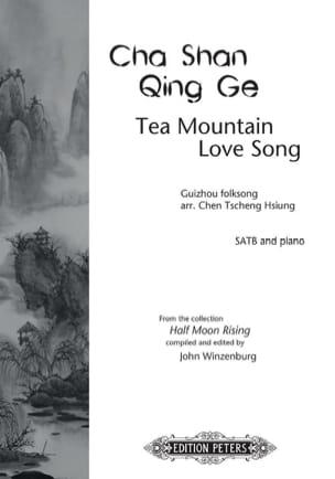 Cha Shan Qing Ge - Traditionnel - Partition - Chœur - laflutedepan.com