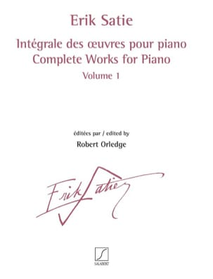 Erik Satie - Complete works for piano. Volume 1 - Sheet Music - di-arezzo.com