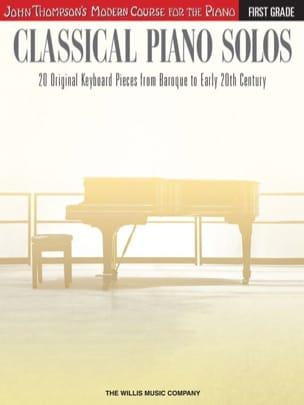 - Classical piano solos - Volume 1 - Partition - di-arezzo.fr