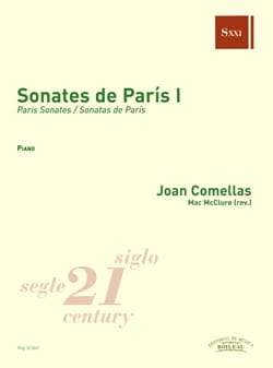 Joan Comellas - Sonates de Paris. Volume 1 - Partition - di-arezzo.fr
